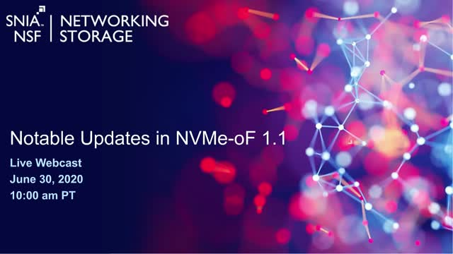 Notable Updates in NVMe-oF 1.1