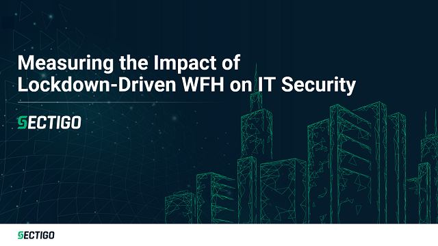 Measuring the Impact of Lockdown-Driven WFH on IT Security