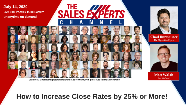 How to Increase Your Close Rates By 25% Or More