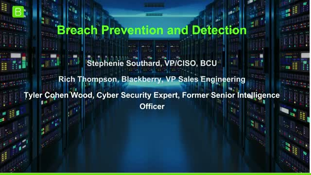 [Panel] Breach Prevention and Detection