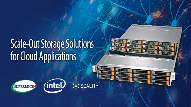 Breakout: Scale-Out Storage Solutions for Cloud Applications (APAC)