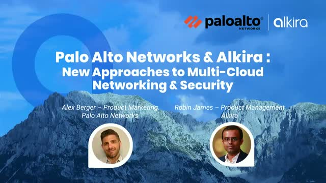 New Approaches To Multi-Cloud Networking & Security