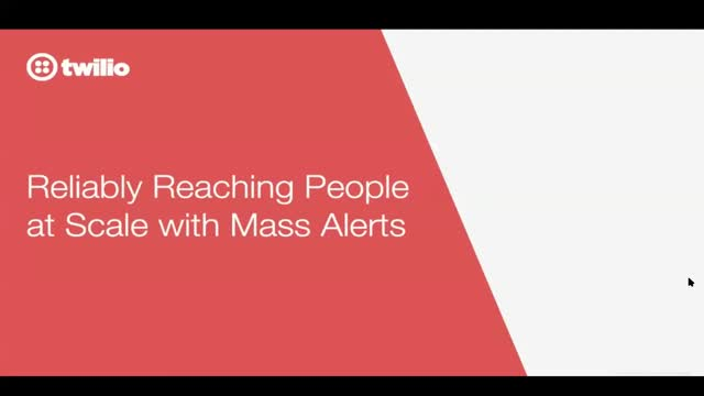 Reliably Reaching People at Scale with Mass Alerts