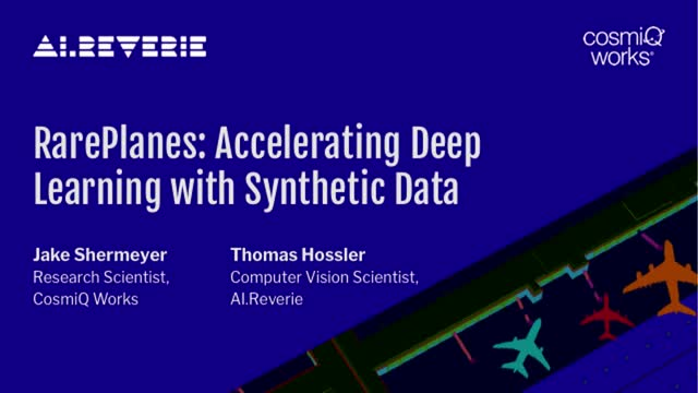RarePlanes: A Case Study in Accelerating Deep Learning With Synthetic Data