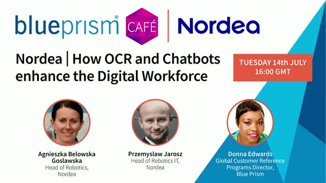 Nordea | How OCR and chatbots enhance the Digital Workforce