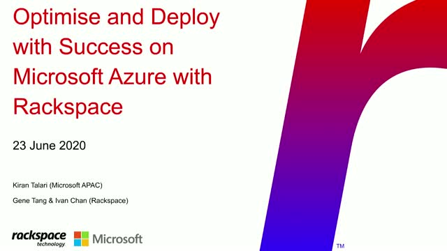 Optimize & Deploy With Success on Microsoft Azure In The New Normal