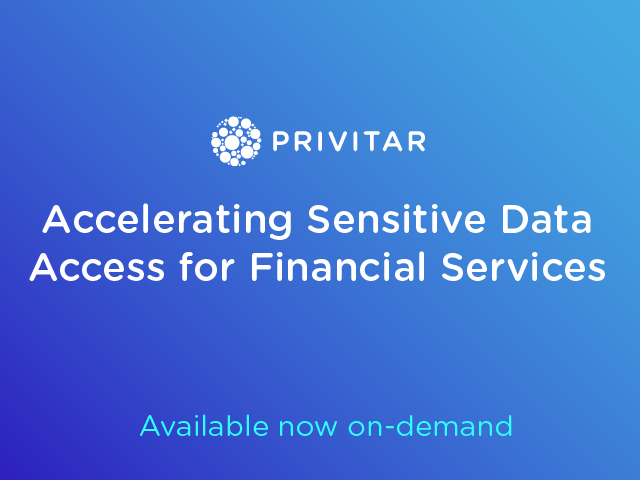 Accelerating Sensitive Data Access for Financial Services