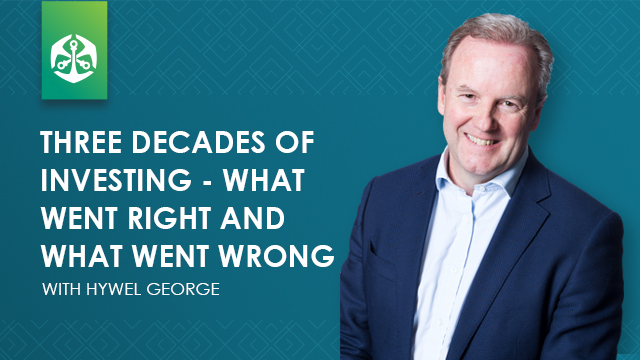 Three decades of investing - what went right and what went wrong