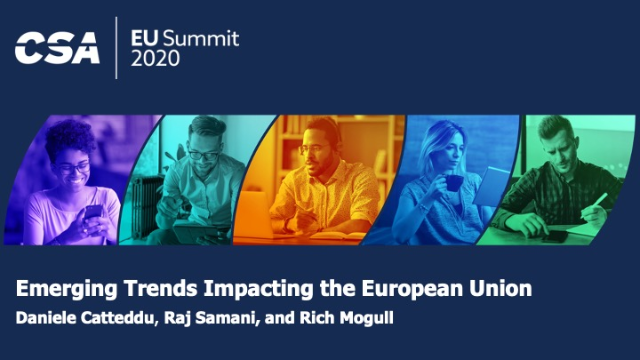 Emerging Trends Impacting the European Union