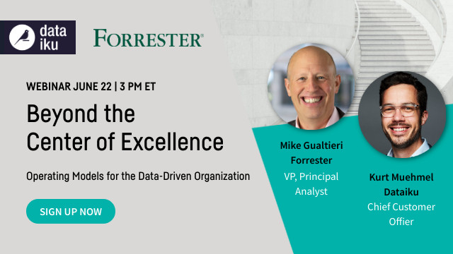Beyond Center of Excellence: Operating Models for the Data-Driven Organization