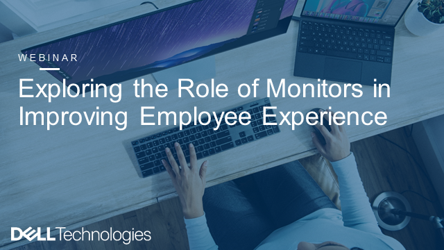 Exploring the Role of Monitors in Improving Employee Experience