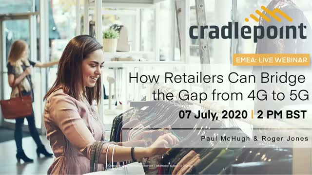 How Retailers Can Bridge the Gap From 4G to 5G [EMEA]