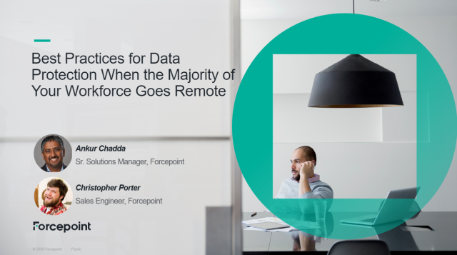 The Best Practices for Data Protection for a Remote Workforce