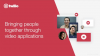 Bringing people together through video applications