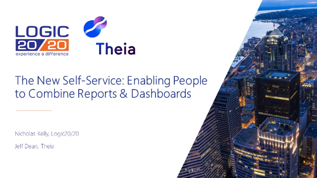 The New Self-Service: Enabling People to Combine Reports & Dashboards