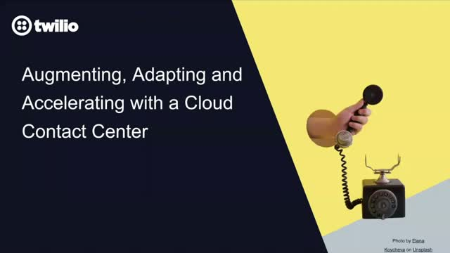 Augmenting, Adapting and Accelerating with a Cloud CC