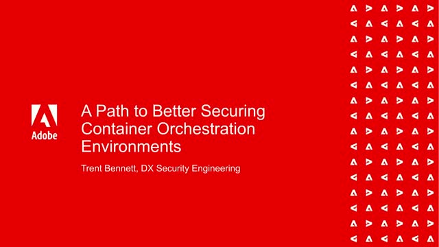 A Path to Better Securing Container Orchestration Environments