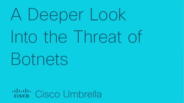 A Deeper Look Into the Threat of Botnets