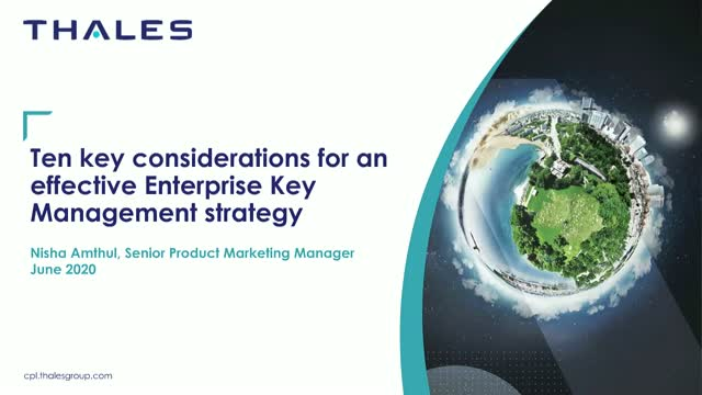 10 Key Considerations for an Effective Key Management Strategy