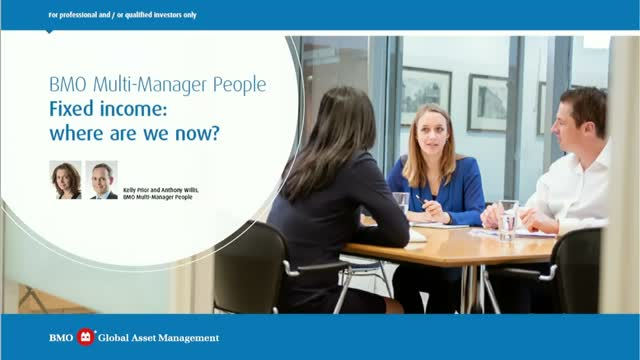 Multi-Manager People - Fixed income: where are we now?