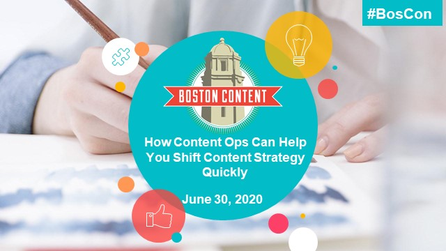 How content ops can help you shift your content strategy quickly