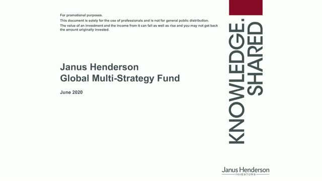 Introducing the Janus Henderson Global Multi-Strategy Fund