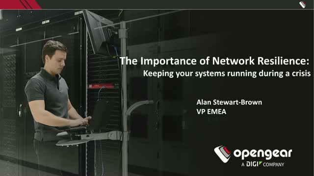 The Importance of Network Resilience: Keeping Systems Running During A Crisis