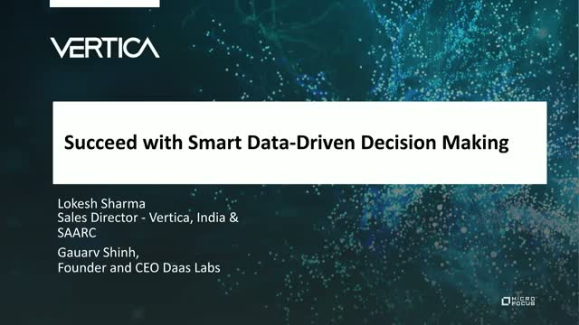 Succeed with Smart Data-Driven Decision Making