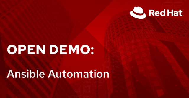 Open Demo: Ansible Automation (6/8)