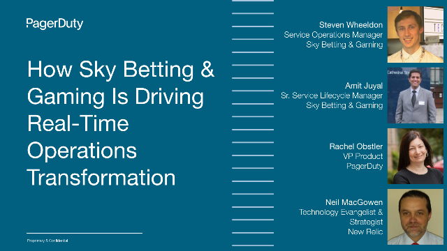 How Sky Betting & Gaming is Driving Real-Time Operations Transformation
