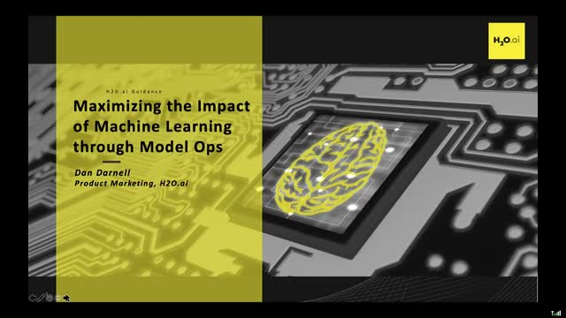 Getting the Most Out of Your Machine Learning with Model Ops