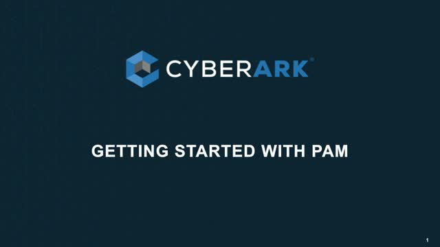 Get Started with PAM