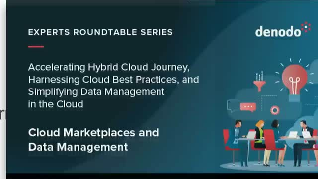 Experts Roundtable Series: Cloud Marketplaces and Data Management (APAC)