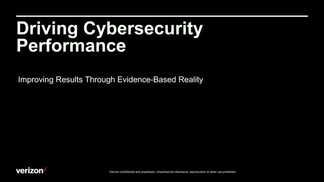 Driving Cybersecurity Performance. Improve Results with Evidence-Based Analysis
