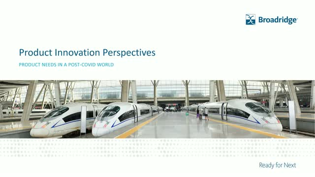 Product Innovation Perspectives –  Product needs in a post-Covid world