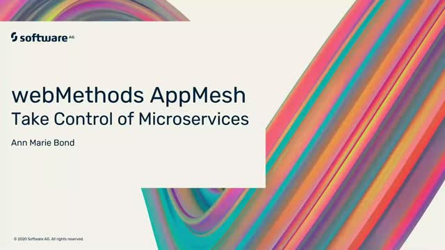 webMethods AppMesh: Take Control of Microservices