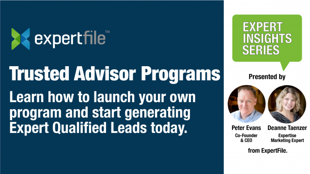 How to Launch Your Own Trusted Advisor Program