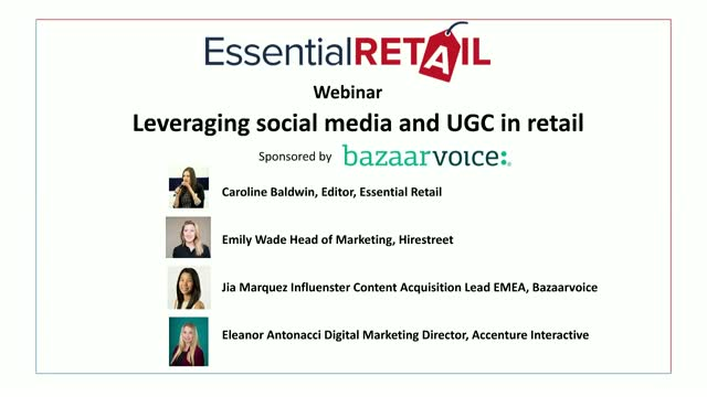 Leveraging social media and UGC in retail