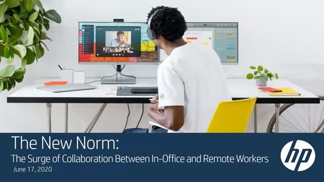 New Norm: The Surge of Collaboration Between In-Office and Remote Workers