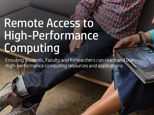 Remote Access to High-Performance Computing