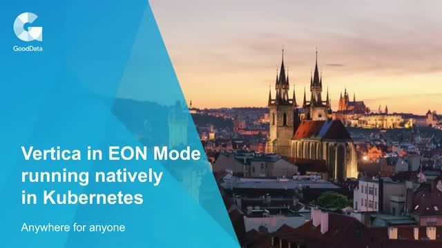 Vertica in Eon Mode running natively in Kubernetes