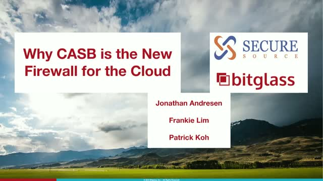 Why CASB is the New Firewall for the Cloud