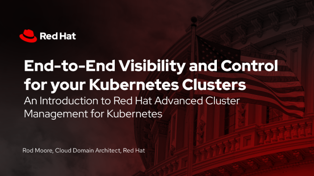 End-to-End Visibility and Control for your Kubernetes Clusters