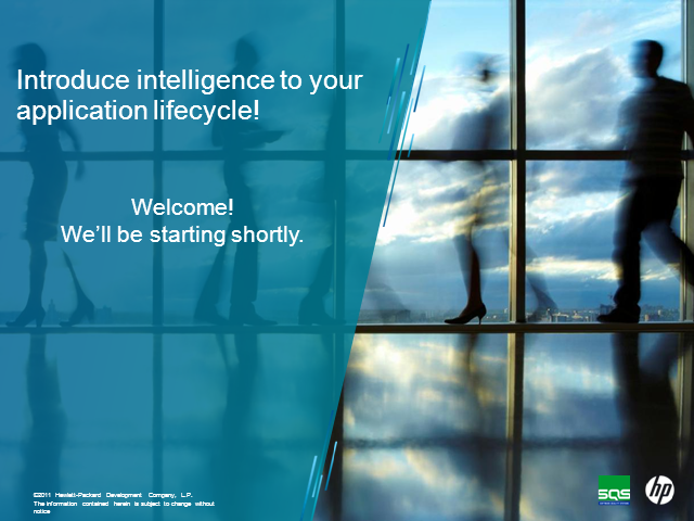 Introduce intelligence to your application lifecycle!