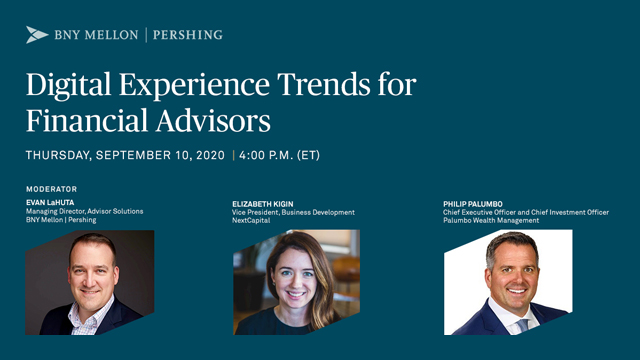 Digital Experience Trends for Financial Advisors