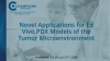 Novel Applications for Ex Vivo PDX Models of the Tumor Microenvironment