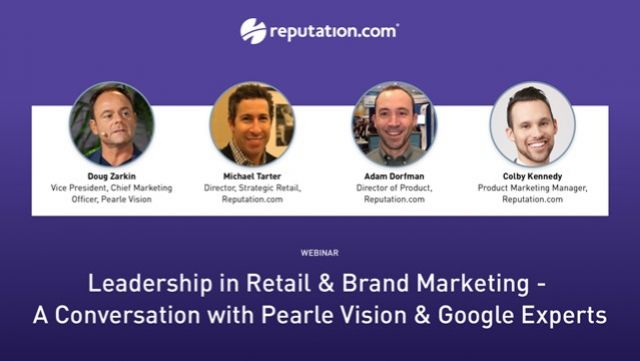 Leadership in Retail & Brand Marketing - Pearle Vision & Google Experts