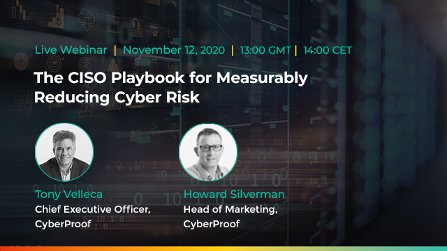 The CISO Playbook for Measurably Reducing Cyber Risk