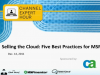 Selling the Cloud: Five Best Practices for MSP