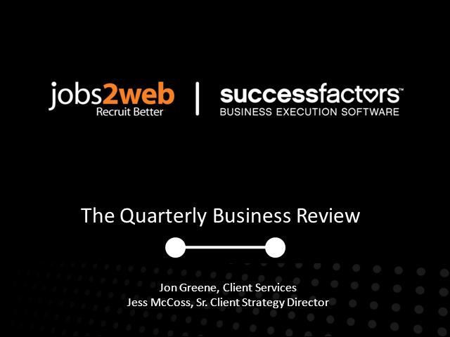 Acing Your Next Quarterly Business Review